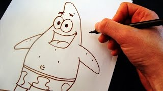 Como Desenhar o Patrick Estrela [Bob Esponja] - (How to Draw Patrick) - SLAY DESENHOS #115