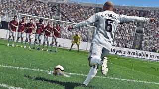 PES 2019 - Free Kick Compilation #5 HD PS4 PRO