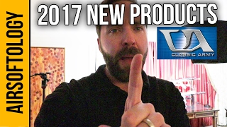 Classic Army Airsoft New Products - 2017 | Airsoftology SHOT Show 2017