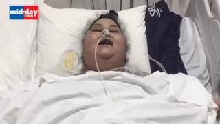 Женщина похудела на 140 кг за пять недель. Чудеса Индийской клиники. Iman Ahmad Abdulati