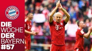 Robben gibt Pflichtspiel-Comeback | Die Woche der Bayern | Ausgabe 57
