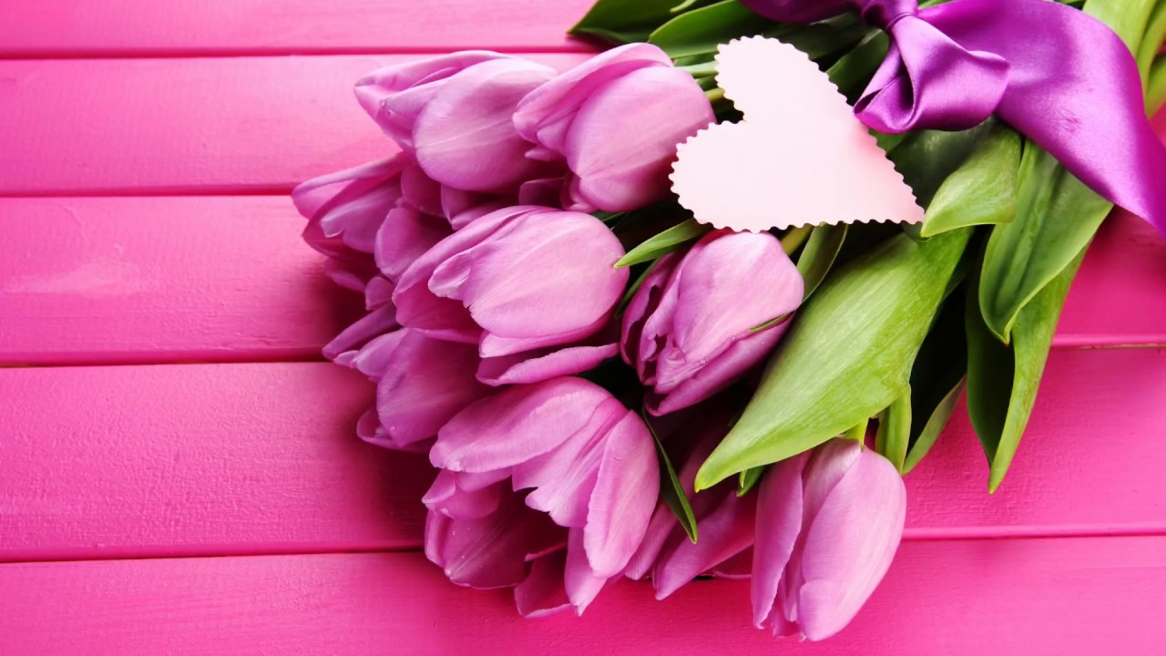 Нежная открытка маме с 8 марта, для печати
