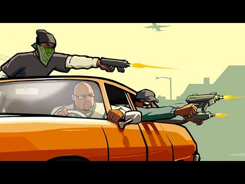 GTA SA Online - GANG WAR IN THE CITY! (San Andreas Multiplayer)