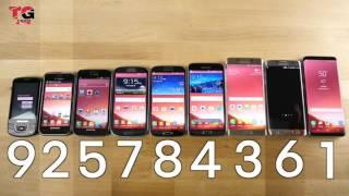 Every Samsung Galaxy Speed Test Comparison!