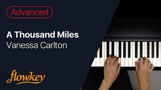 A Thousand Miles – Vanessa Carlton (Piano Cover)