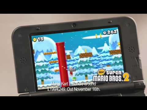 Nintendo 3ds Xl New Super Mario Bros 2 Christmas Gift Tv Ad Youtube