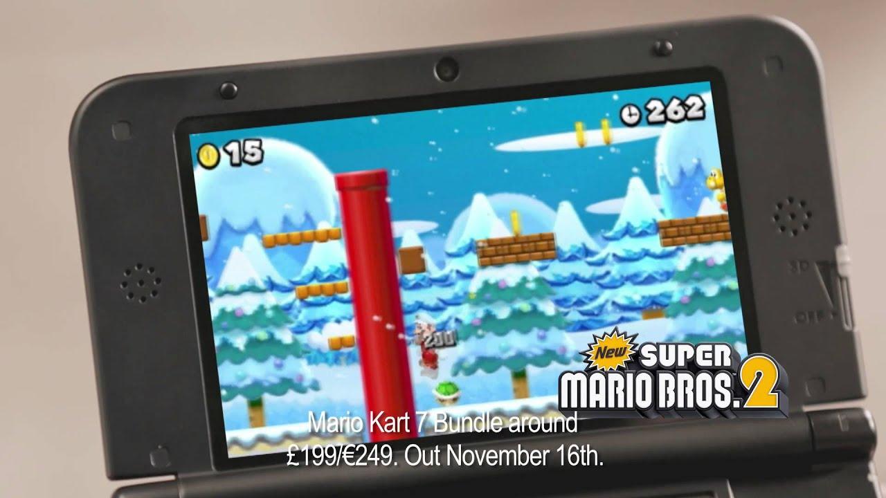 Nintendo 3DS XL New Super Mario Bros, 2 Christmas Gift TV AD - YouTube