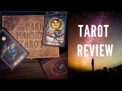 Tarot Deck Review - Dark Mansion Tarot Limited Edition