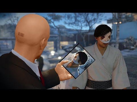 HITMAN 2 - Elusive Target #4, The Fugitive Silent Assassin Suit Only Scissors