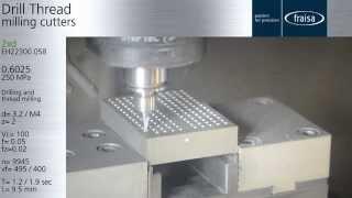 Drill Thread milling cutters