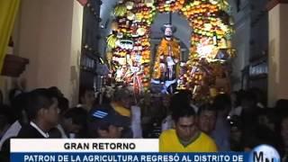 RETORNO DE SAN ISIDRO LABRADOR A MOCHE .