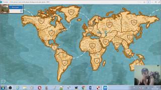 bil ve fethet e dünya haritasına girerek döndüm