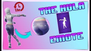 THE HULA DANCE EMOTE | EXTRA THICC (1 HOUR) - Fortnite Battle Royale