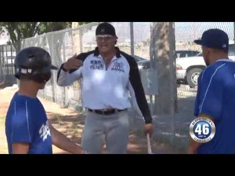 05/12/2014 Jose Canseco with little league team