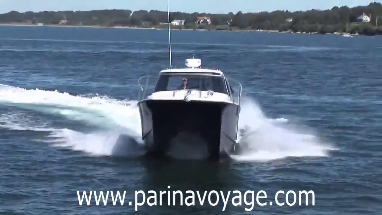 Fishing Boat Power Catamaran Arrowcat 30