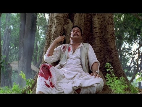 Chandrashekhar Azad Commits Suicide | The Legend Of Bhagat Singh Movie Scene