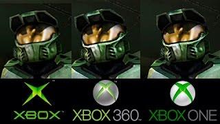 Halo CLASSIC | Xbox VS Xbox 360 VS Xbox ONE | Comparativa grafica NO ANNIVERSARY