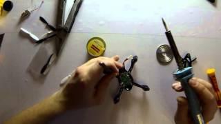Ремонт і польоти квадрокоптер Hubsan H107 DIY