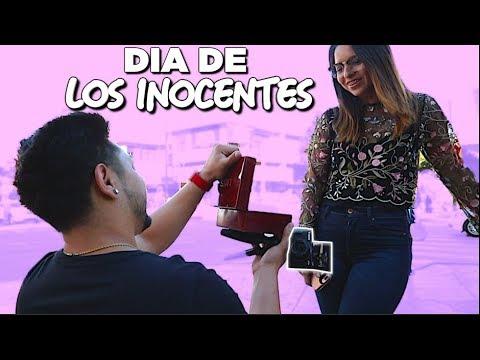 PROPONGO MATRIMONIO A MI NOVIA! | DIA DE LOS INOCENTES