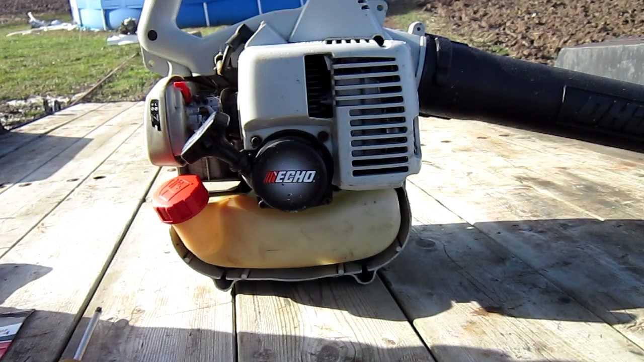 Echo fuel line hookup