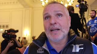 PISSED & A FEW LINES UP HIS NOSE! -PETER FURY GOES IN ON PROMOTER HIGGINS, REF, PARKER-FURY, YOUTUBE