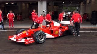 Ferrari Formula 1 F2001 - EPIC V10 SOUNDS!!