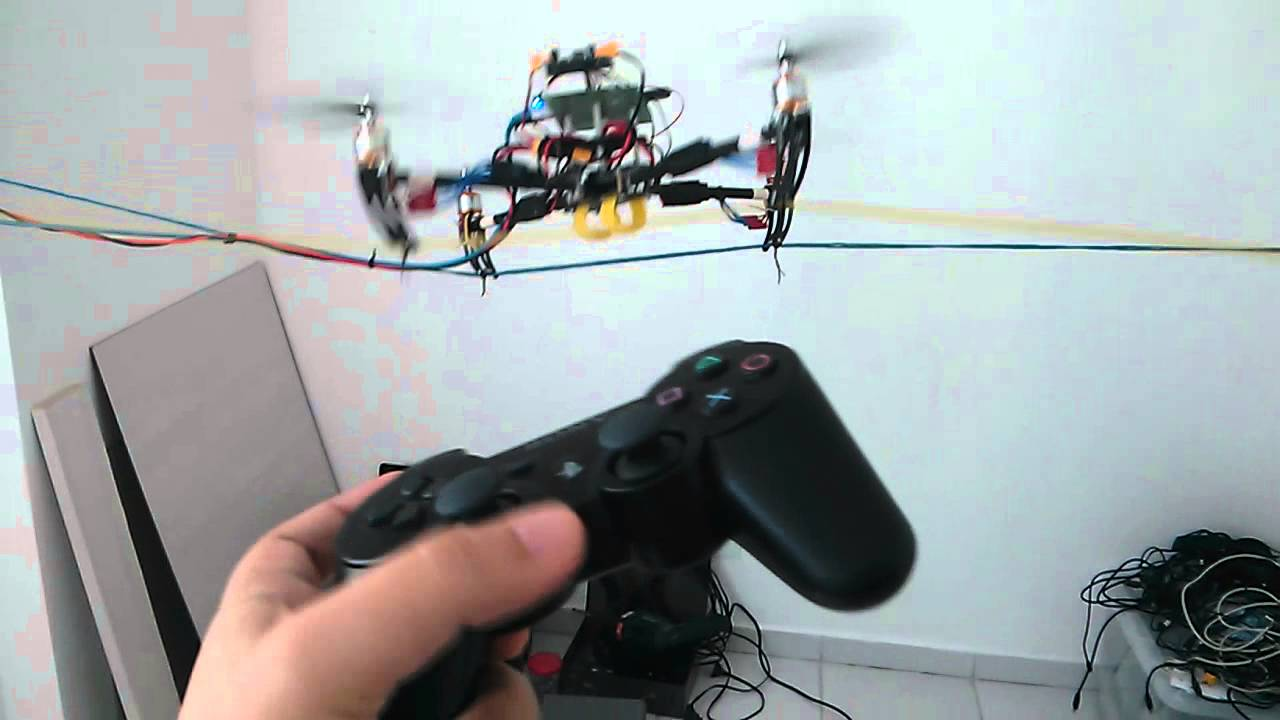 Beaglebone Drone Ps3 Joystick 8x45