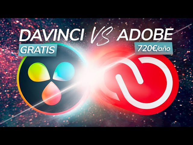 Adobe VS Davinci | Mejor EDITOR de VÍDEO