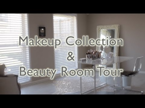 My Makeup Collection + Beauty Room Tour