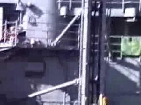 USS WISCONSIN UNREP DEC 1990