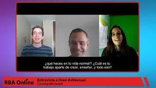 Entrevista a Oren Ashkenazi