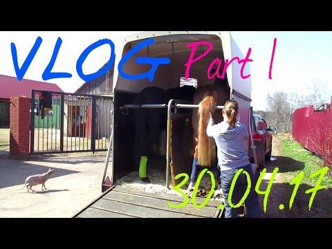 VLOG: переезд и первый день на новом месте PART 1