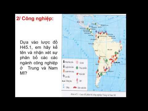 Tuần 24 Ngày 23/04/2020 ĐỊA 7: Chủ đề 2.2: Kinh tế Trung và Nam Mỹ Phần 2
