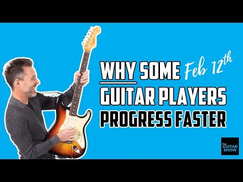Why Some Guitar Players Progress Faster Than Others - LIVE