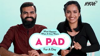 When A Boy Wears A Sanitary Pad For A Day | Per...