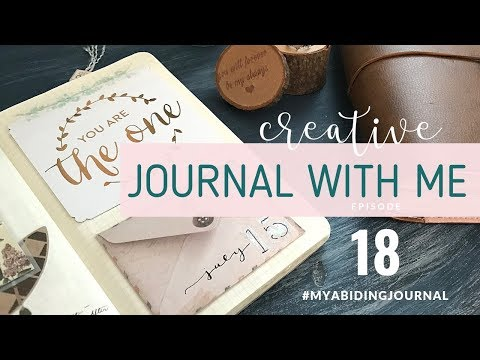 CREATIVE JOURNALING SESSION // Our Proposal Story // Journal With Me 18