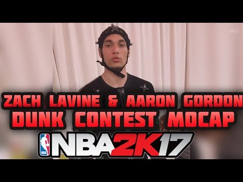 NBA 2K17 - Official Dunk Contest Motion Capture Behind The Scenes Footage