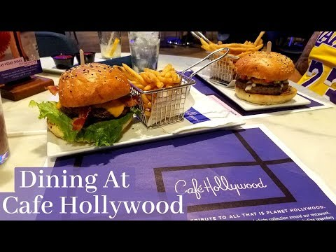 Dining In Las Vegas At Cafe Hollywood | TVPEats 1