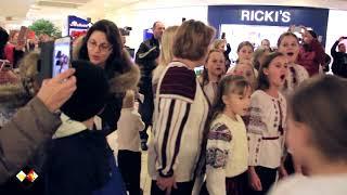 """КОЛЯДА"" Flashmob Toronto 2018"