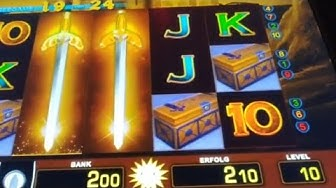 Tizona 👊😁👊 knallen jetzt die GOLDSCHWERTER ?   10 Cent Zocker   Merkur Magie, Doku, Spielothek