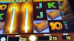 Tizona 👊😁👊 knallen jetzt die GOLDSCHWERTER ? | 10 Cent Zocker | Merkur Magie, Doku, Spielothek