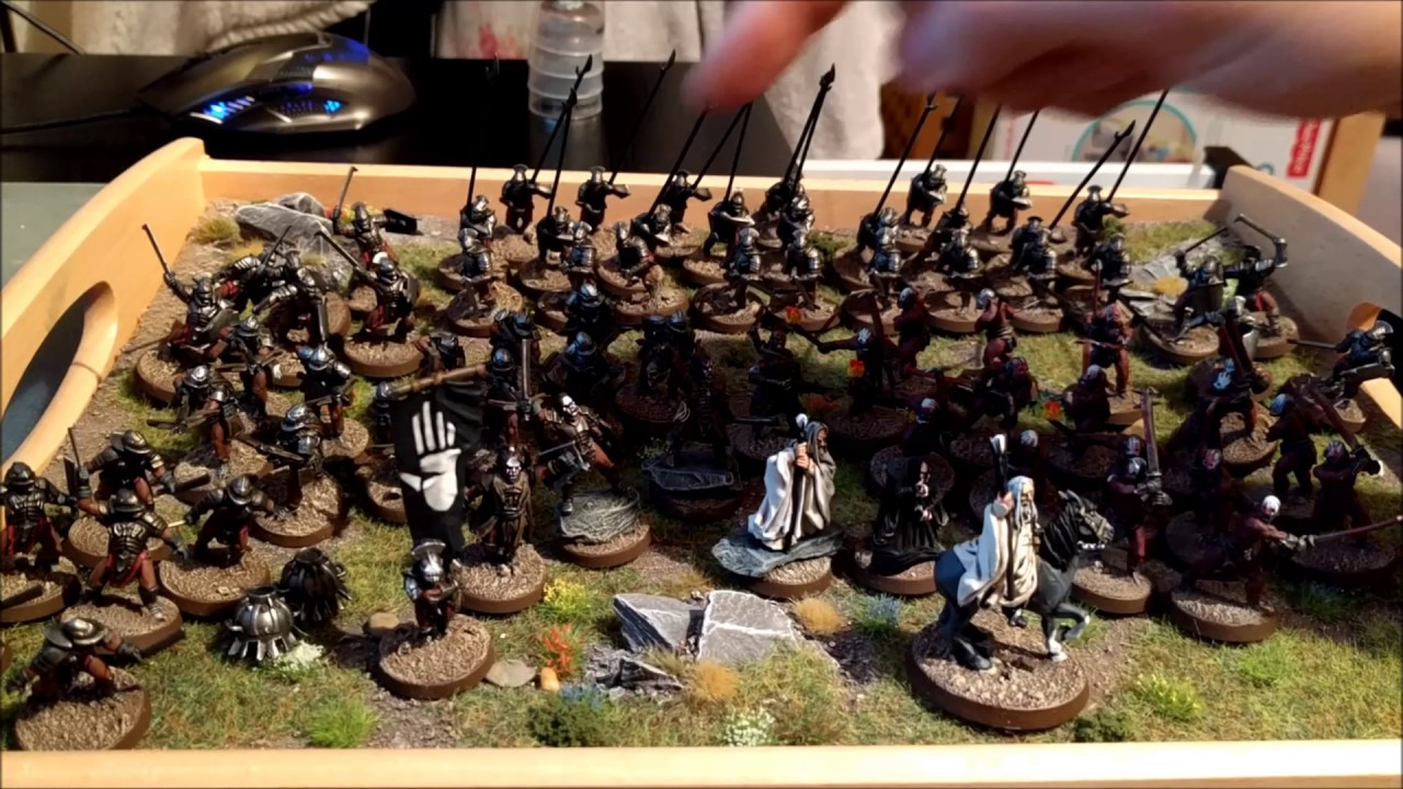 Games Workshop Lord Of The Rings Isengard Army Review