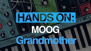 Moog Grandmother – hands-on