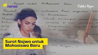Surat Najwa untuk Mahasiswa Baru   Catatan Najwa