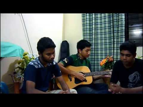 amar ekla akash covered by SATAS