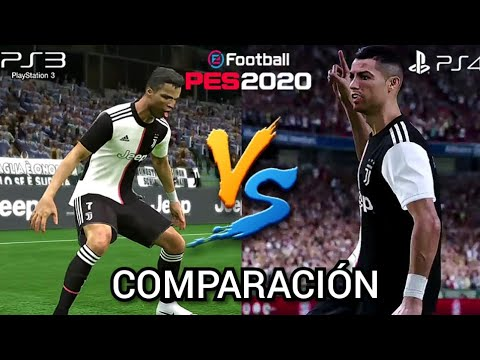 PES 2020 PATCH XBOX360/PS3 VS PES 2020 PS4/XBOXONE | COMPARACIÓN DEFINITIVA! | SEE IT NOW!
