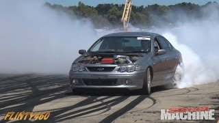 XR6 TURBO BURNOUT AT UBC BALLARAT