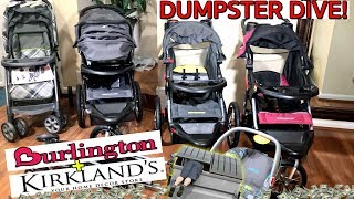 BIG DUMPSTER DIVE PAYOUT! $2,000+ HAUL BRAND NEW STROLLERS | CAR SEATS | DECOR |  *INSANE