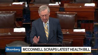McConnell Scraps Obamacare Replacement to Seek Repeal