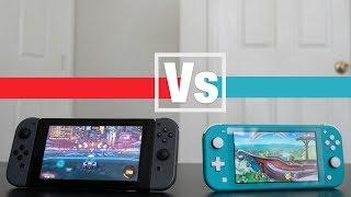 Nintendo Switch Vs Switch Lite Video